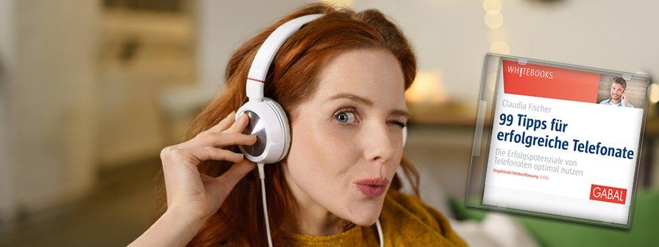 Jetzt gibt's was auf die Ohren: Telefontraining wann und wo Sie wollen!
