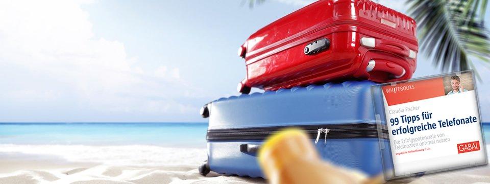 Telefontraining am Strand: Urlaubszeit ist Weiterbildungszeit!