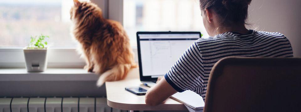 Stress lass nach: Fünf Tipps für entspanntes Arbeiten im Homeoffice